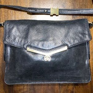 Botkier Envelope Crossbody Black Bag